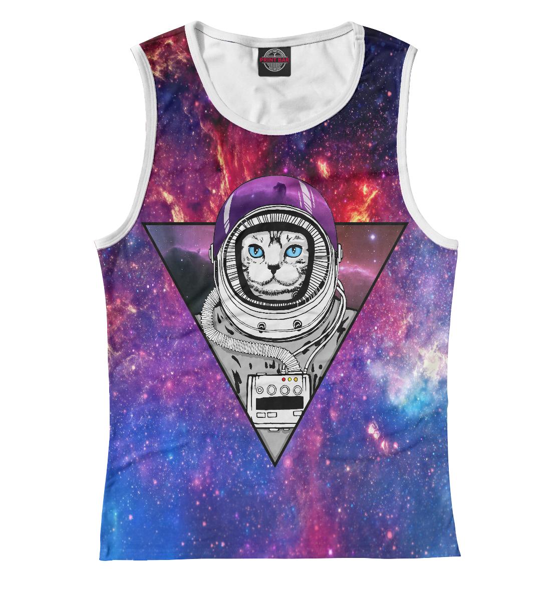 Купить Кот в космосе, Printbar, Майки, CAT-554910-may-1
