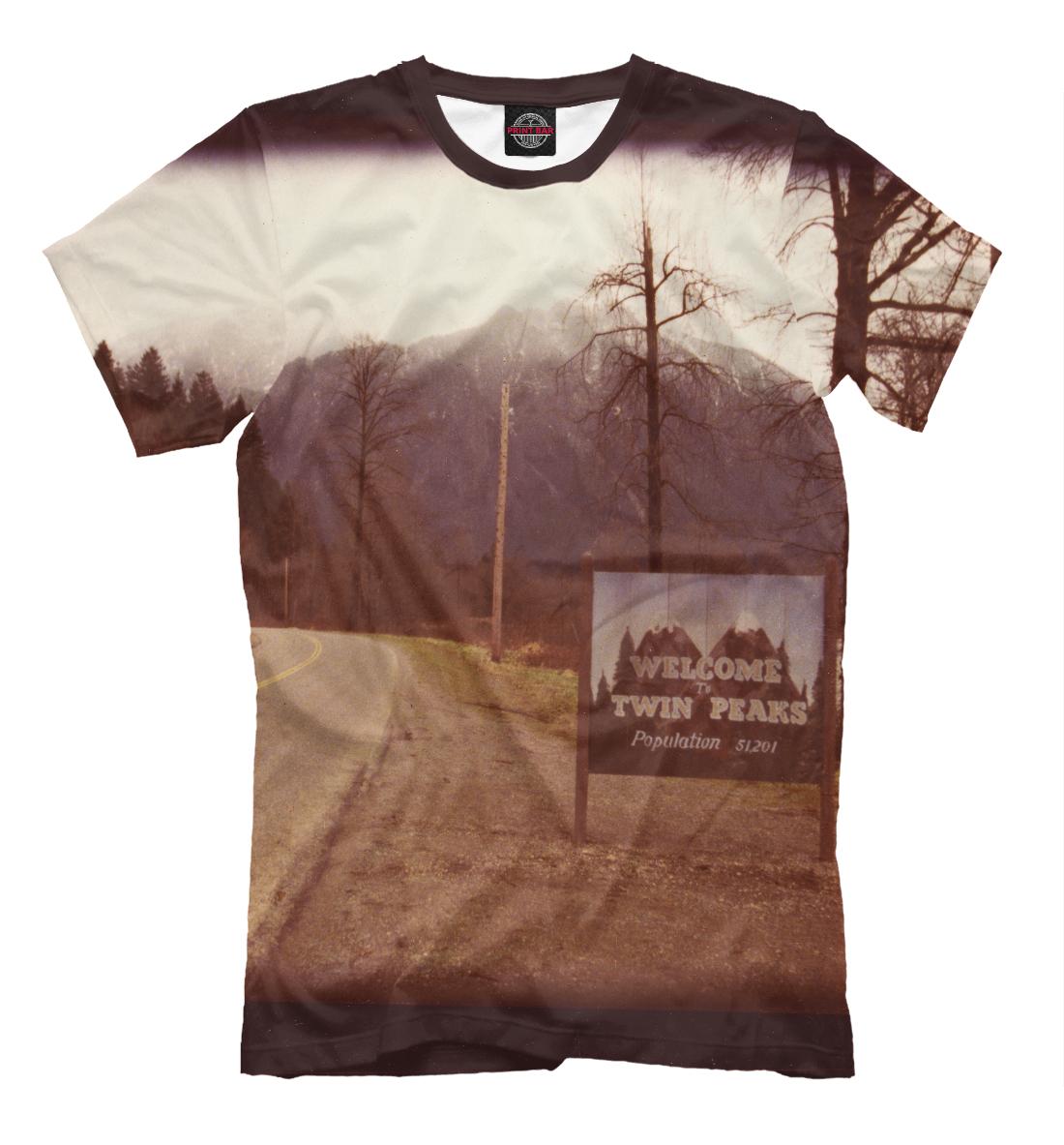 Купить Welcome to Twin Peaks, Printbar, Футболки, TPS-818166-fut-2
