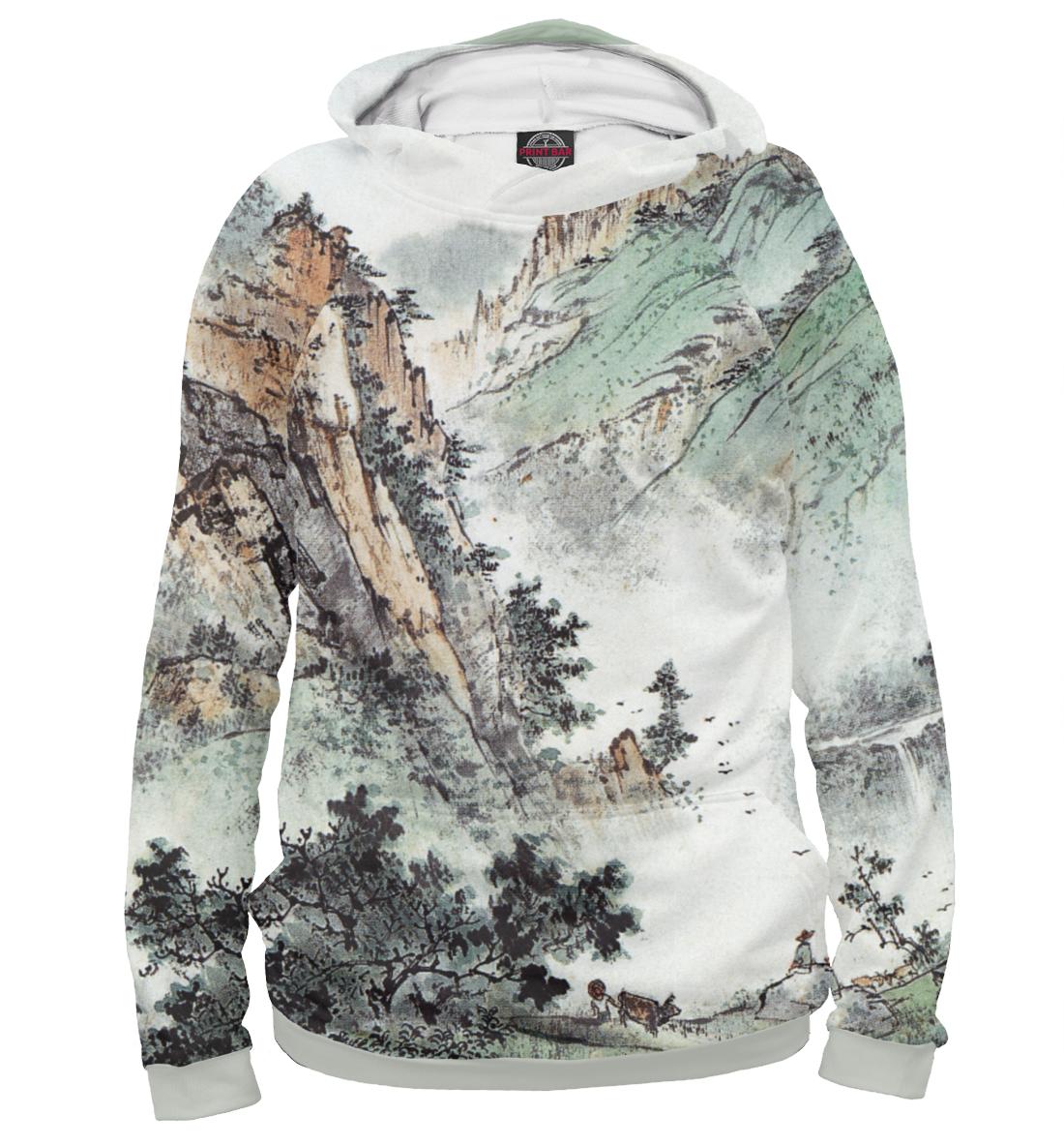 Купить Горы Китая, Printbar, Худи, GHI-521243-hud-2