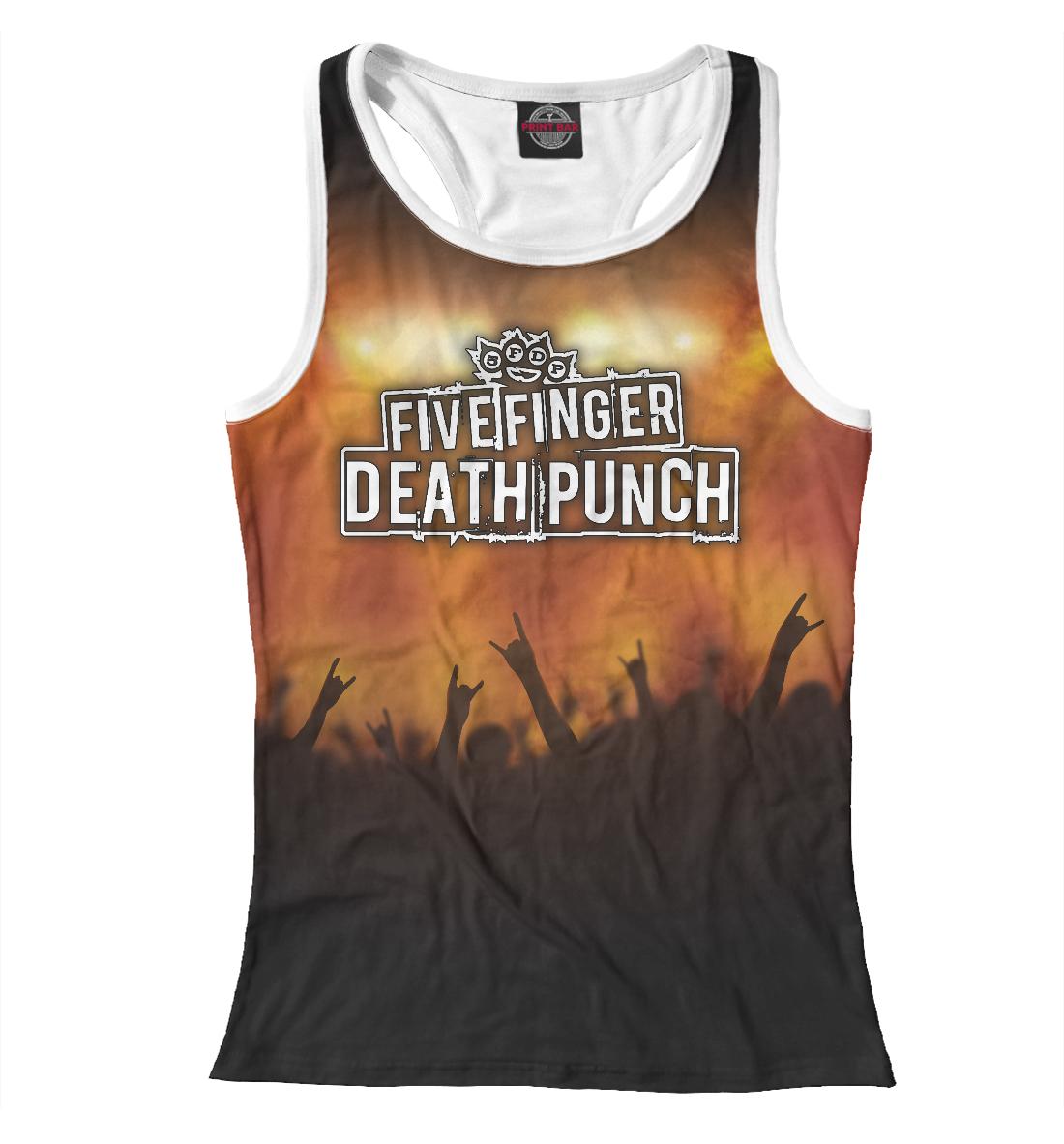 Купить Five Finger Death Punch, Printbar, Майки борцовки, FFD-445620-mayb-1