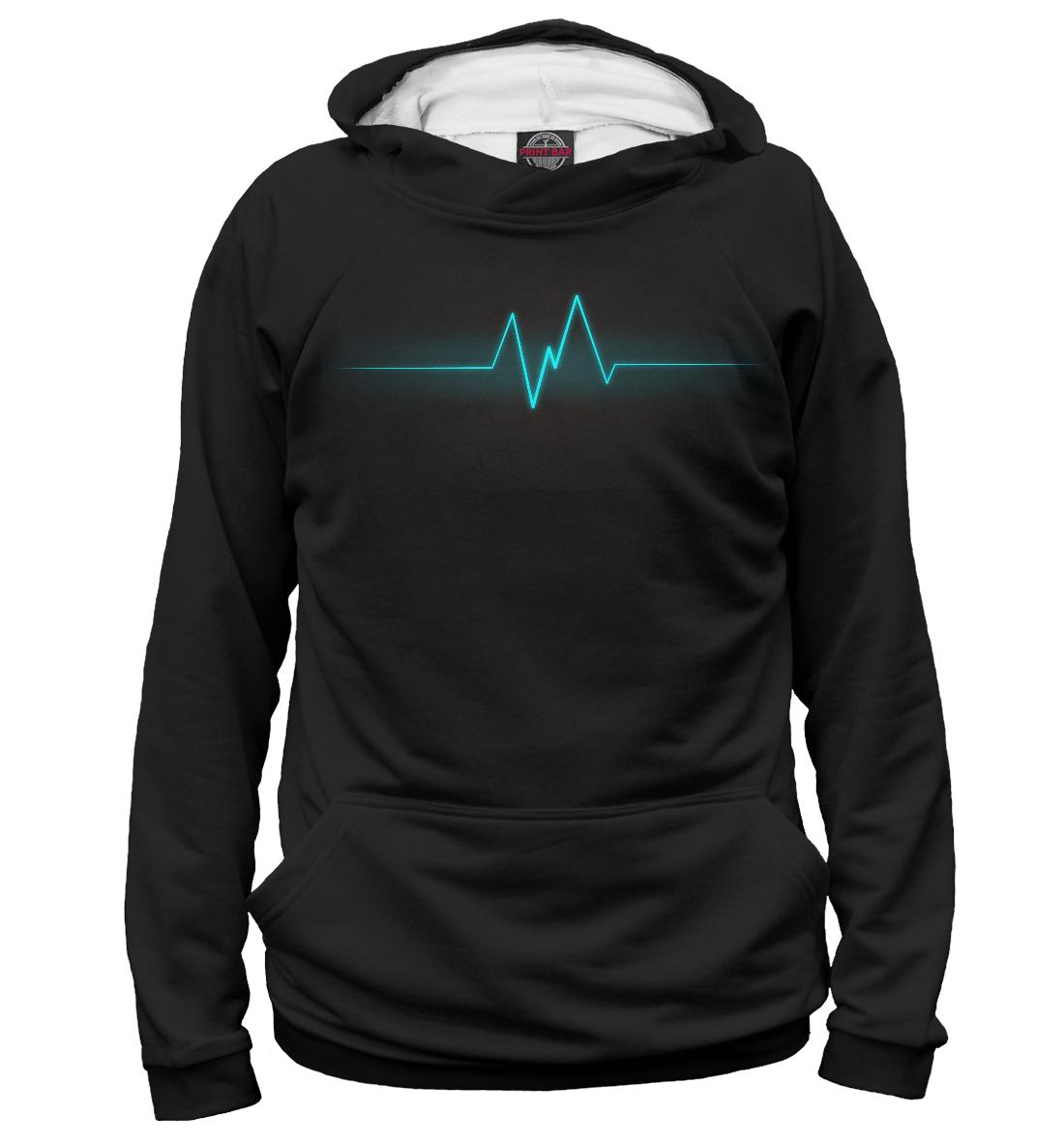 Купить Пульс сердца, Printbar, Худи, APD-282736-hud-1