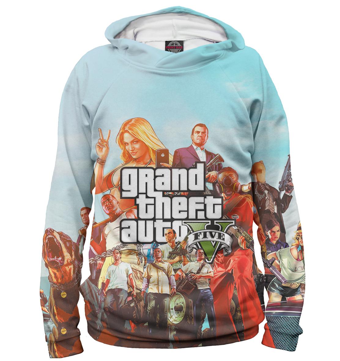 Купить Grand Theft Auto V, Printbar, Худи, ROC-535016-hud-2