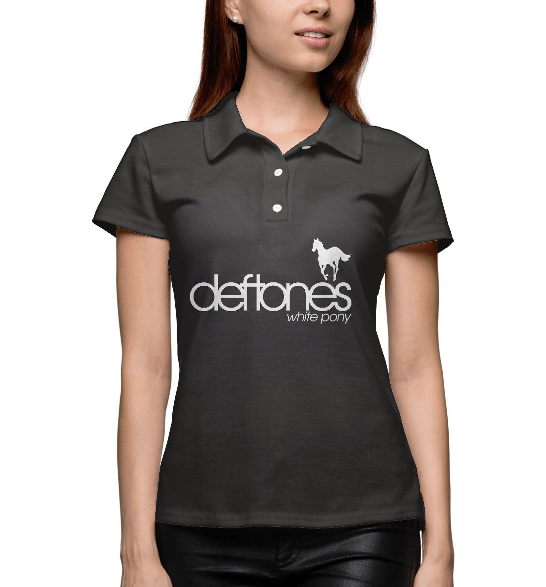 Купить Deftones, Printbar, Поло, DFT-784702-pol-1
