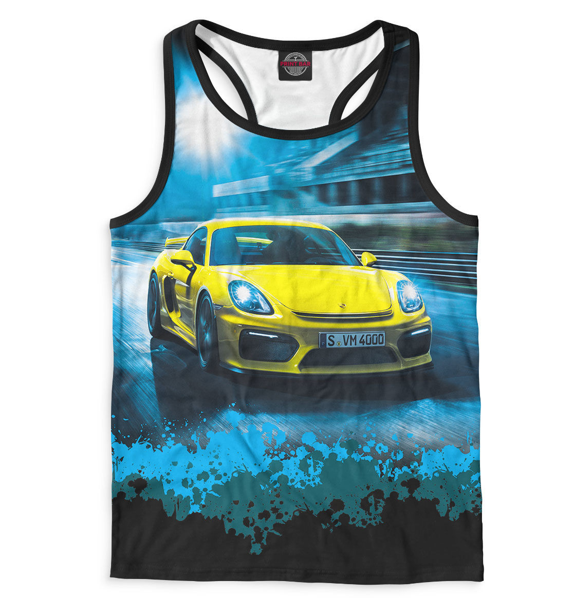Купить Porsche, Printbar, Майки борцовки, SPC-571981-mayb-2