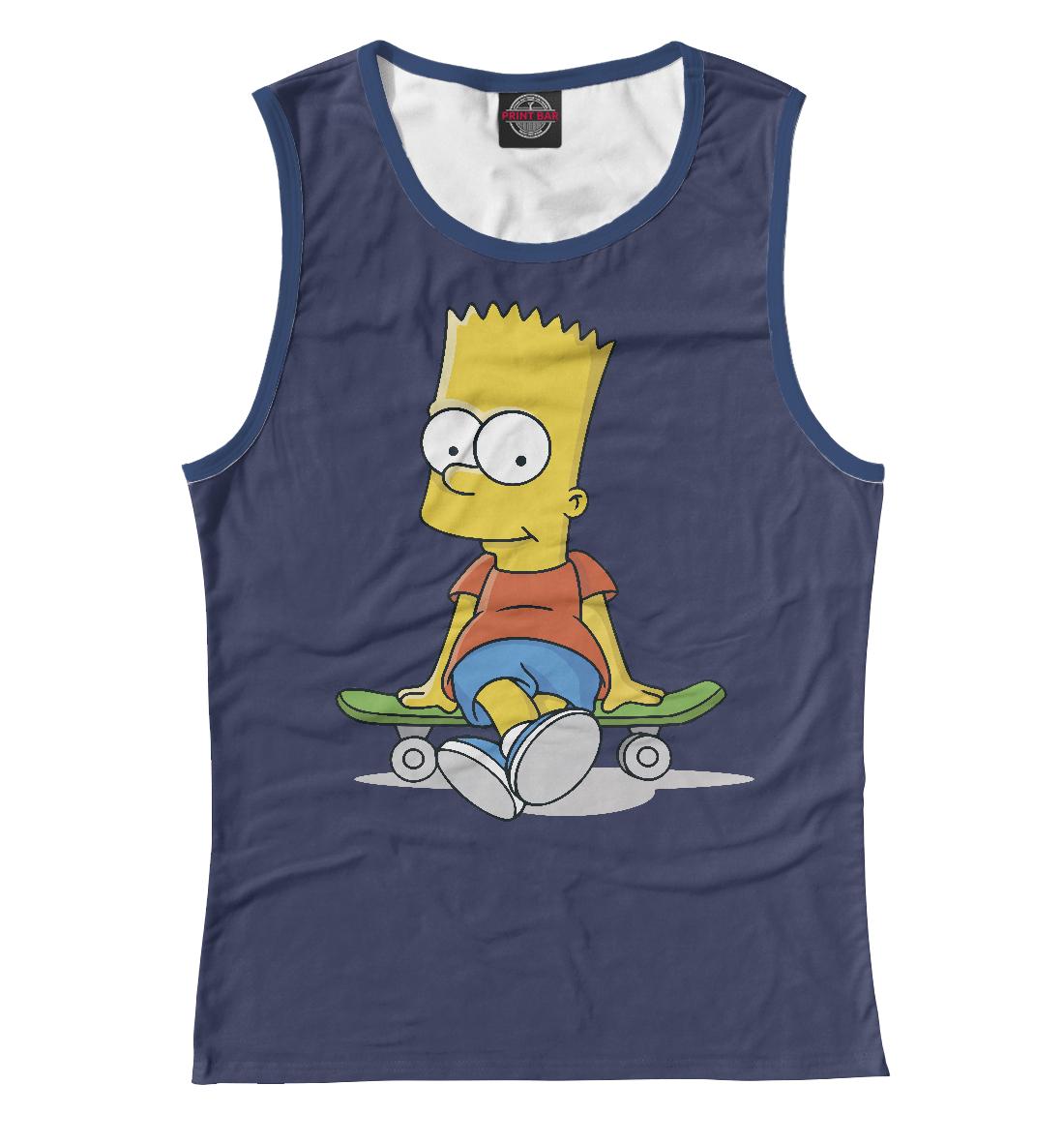Купить Барт Симпсон, Printbar, Майки, SIM-164670-may-1