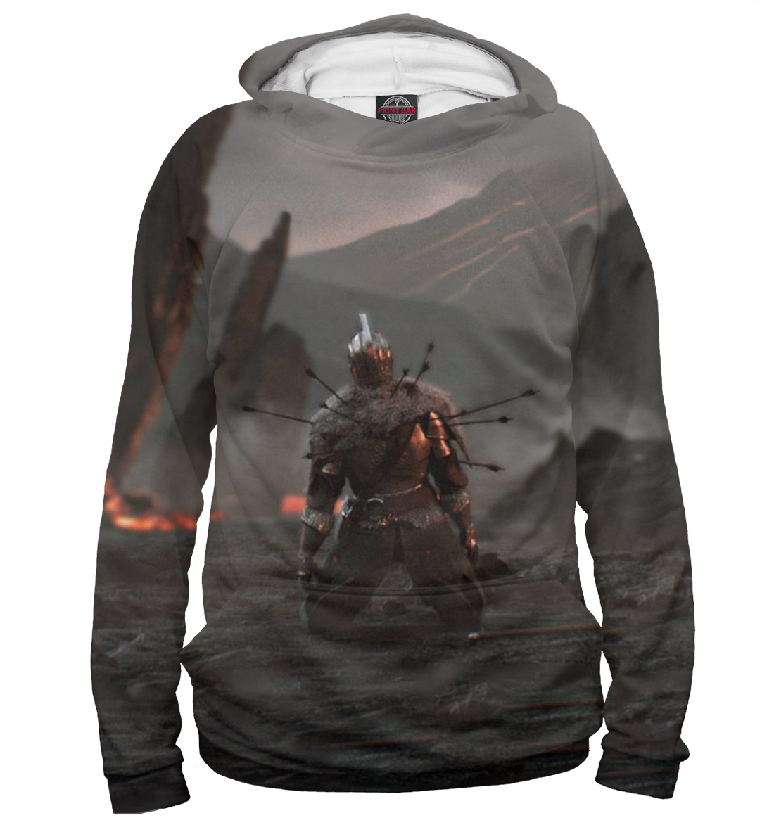 Купить Dark Souls, Printbar, Худи, DKS-584416-hud-1