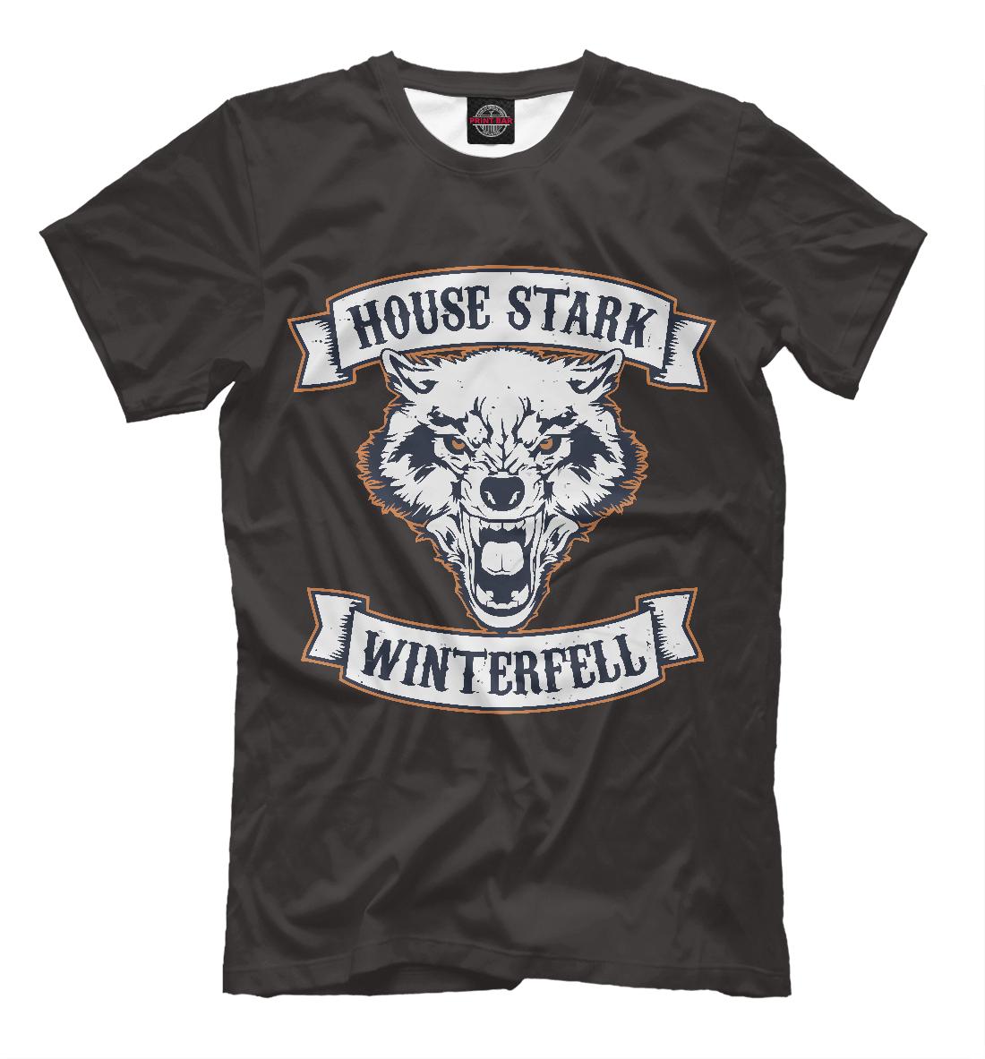 Купить House Stark Winterfell, Printbar, Футболки, IGR-929756-fut-2