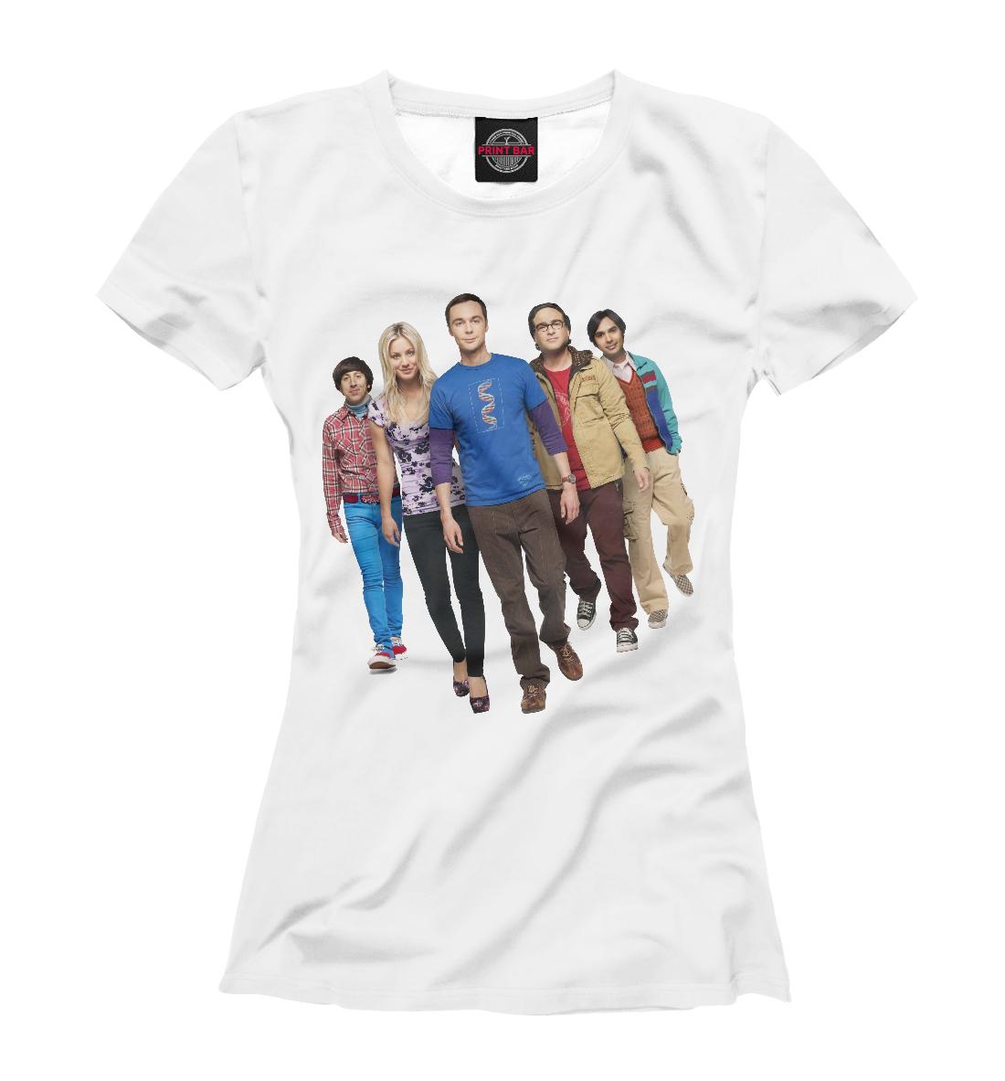 Купить The Big Bang Theory, Printbar, Футболки, TEO-422505-fut-1