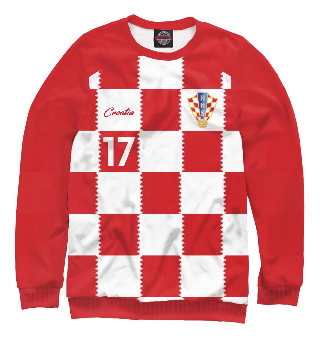 Купить Марио Манджукич - Сборная Хорватии, Printbar, Свитшоты, FLT-790781-swi-2