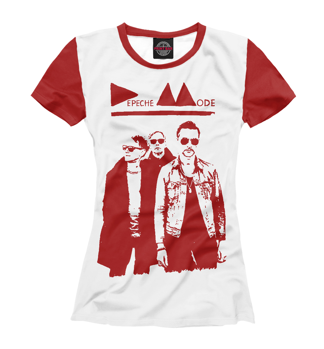Купить Depeche Mode, Printbar, Футболки, DPM-489098-fut-1