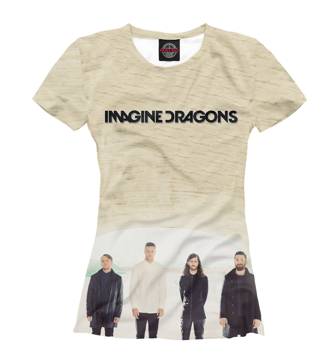 Купить Imagine Dragons, Printbar, Футболки, IMA-431668-fut-1