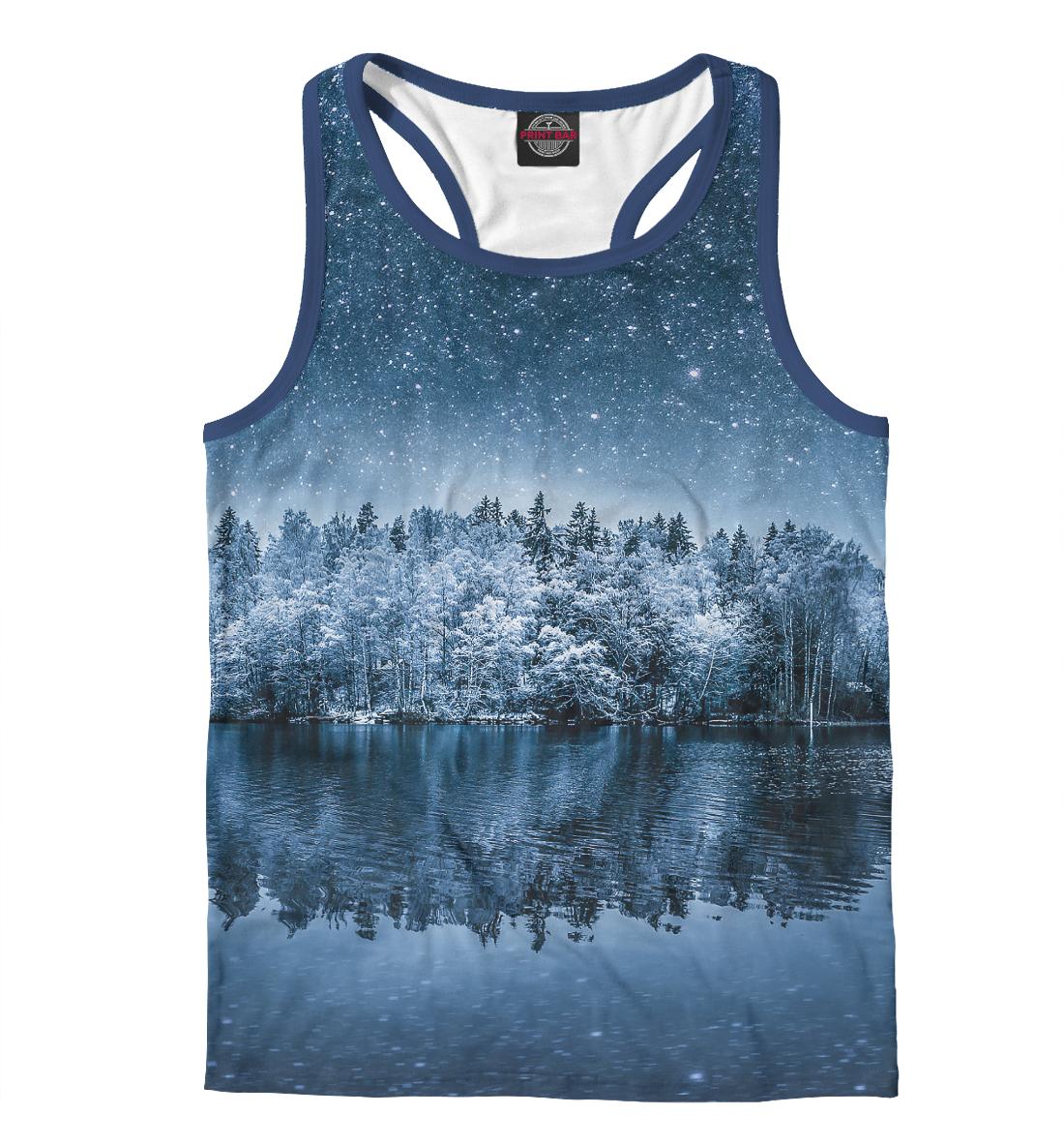 Купить Starry winter, Printbar, Майки борцовки, PEY-915278-mayb-2