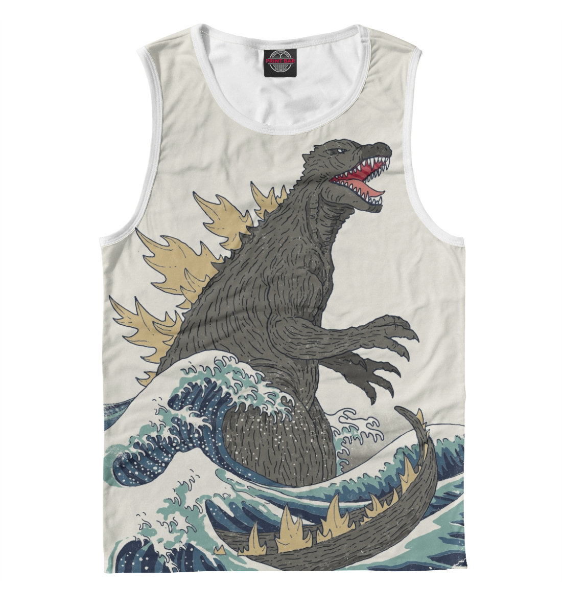 Купить Godzilla, Printbar, Майки, KNO-948120-may-2
