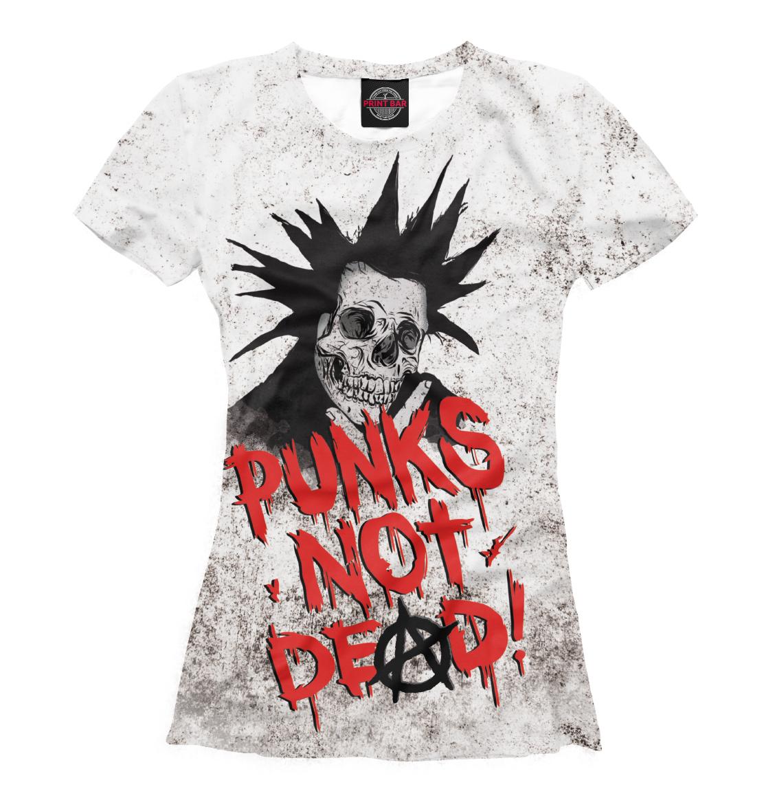 Купить Punks not Dead!, Printbar, Футболки, MZK-529454-fut-1