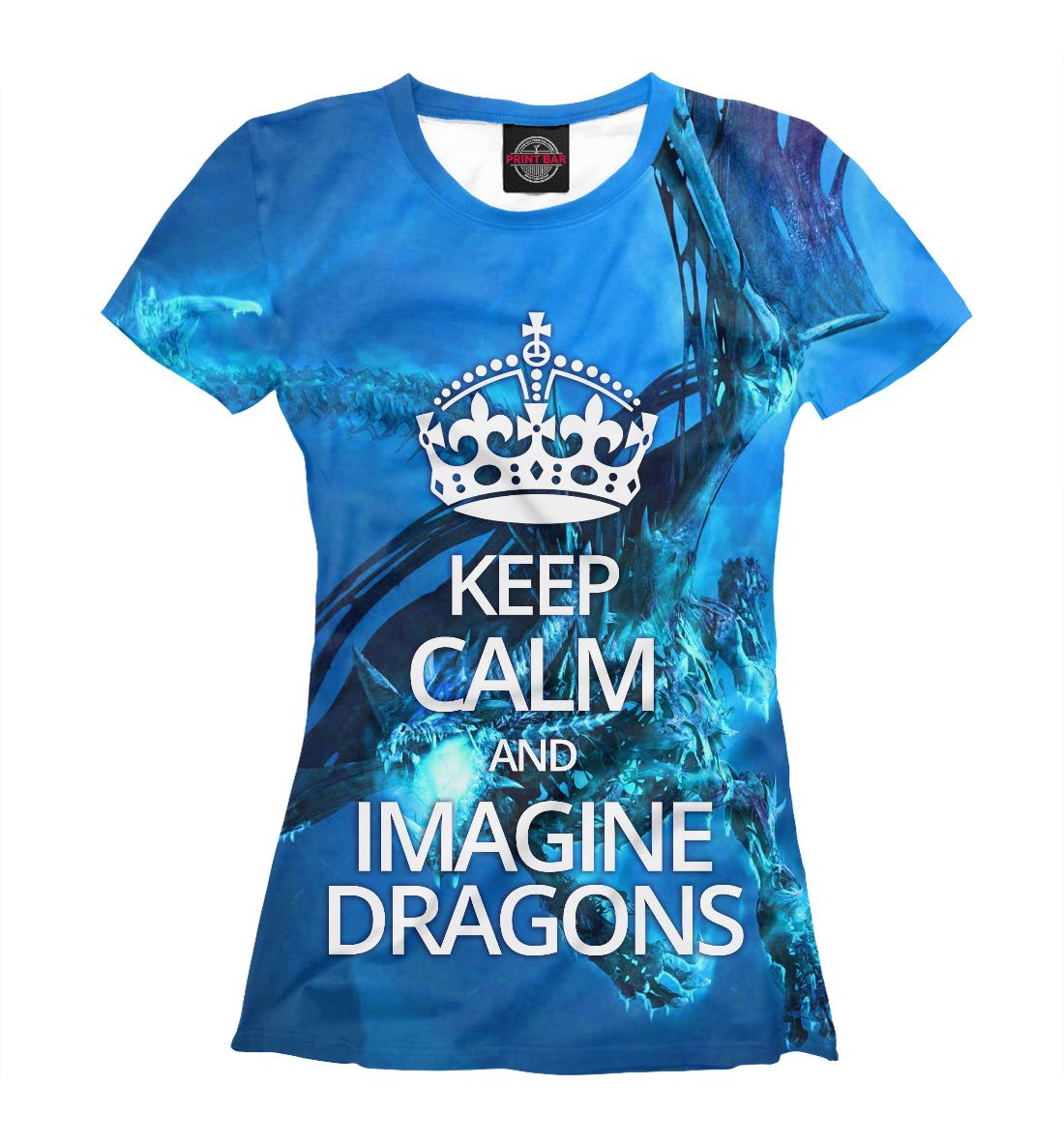 Купить Imagine Dragons, Printbar, Футболки, IMA-631366-fut-1