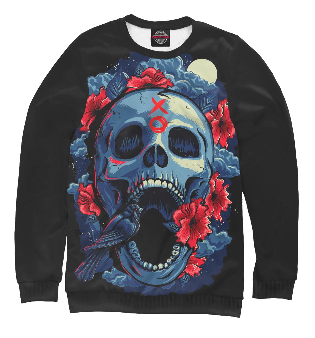 Купить Birdy Skull, Printbar, Свитшоты, HAL-733026-swi-2