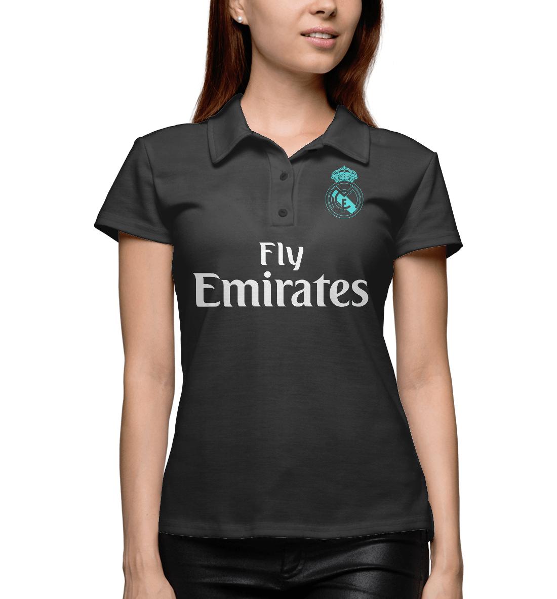 Купить Форма Реал Мадрид Гостевая 17/18, Printbar, Поло, REA-859816-pol-1