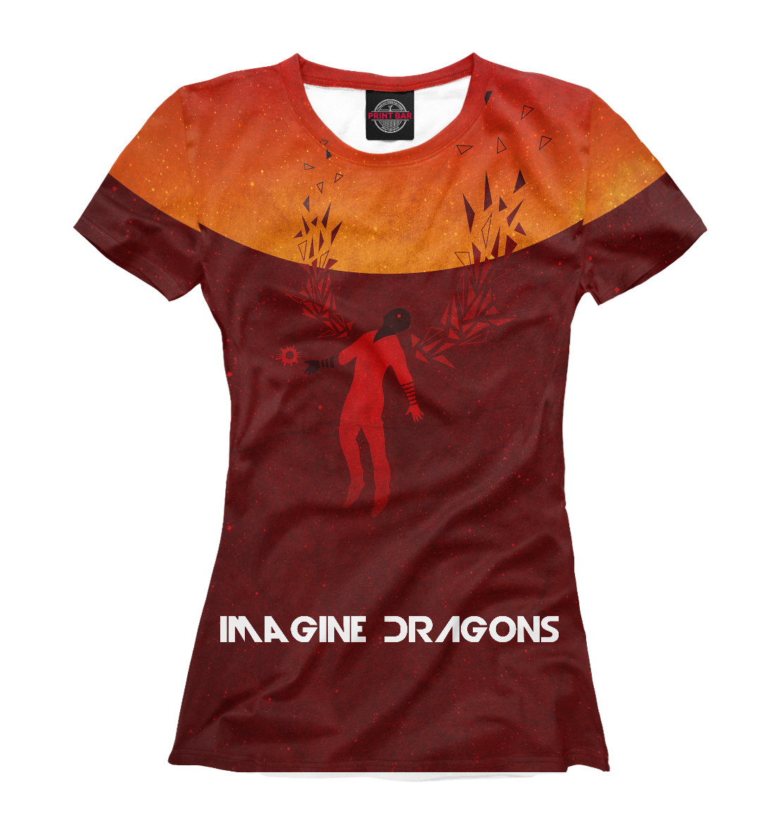 Купить Imagine Dragons, Printbar, Футболки, IMA-244101-fut-1
