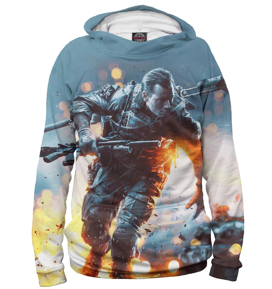 Купить Battlefield 4, Printbar, Худи, BTF-983815-hud-2