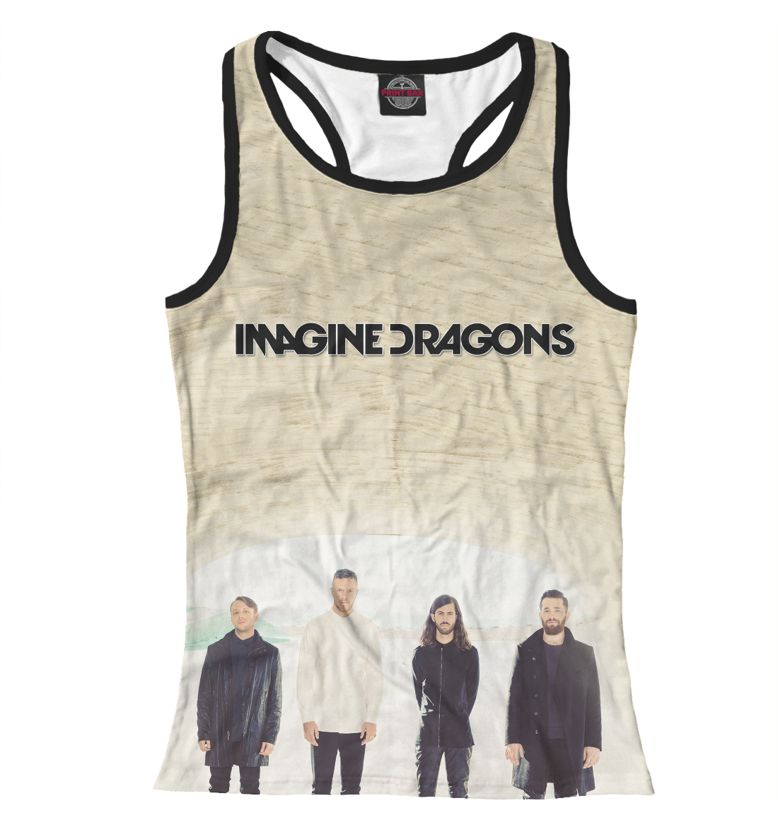 Купить Imagine Dragons, Printbar, Майки борцовки, IMA-431668-mayb-1
