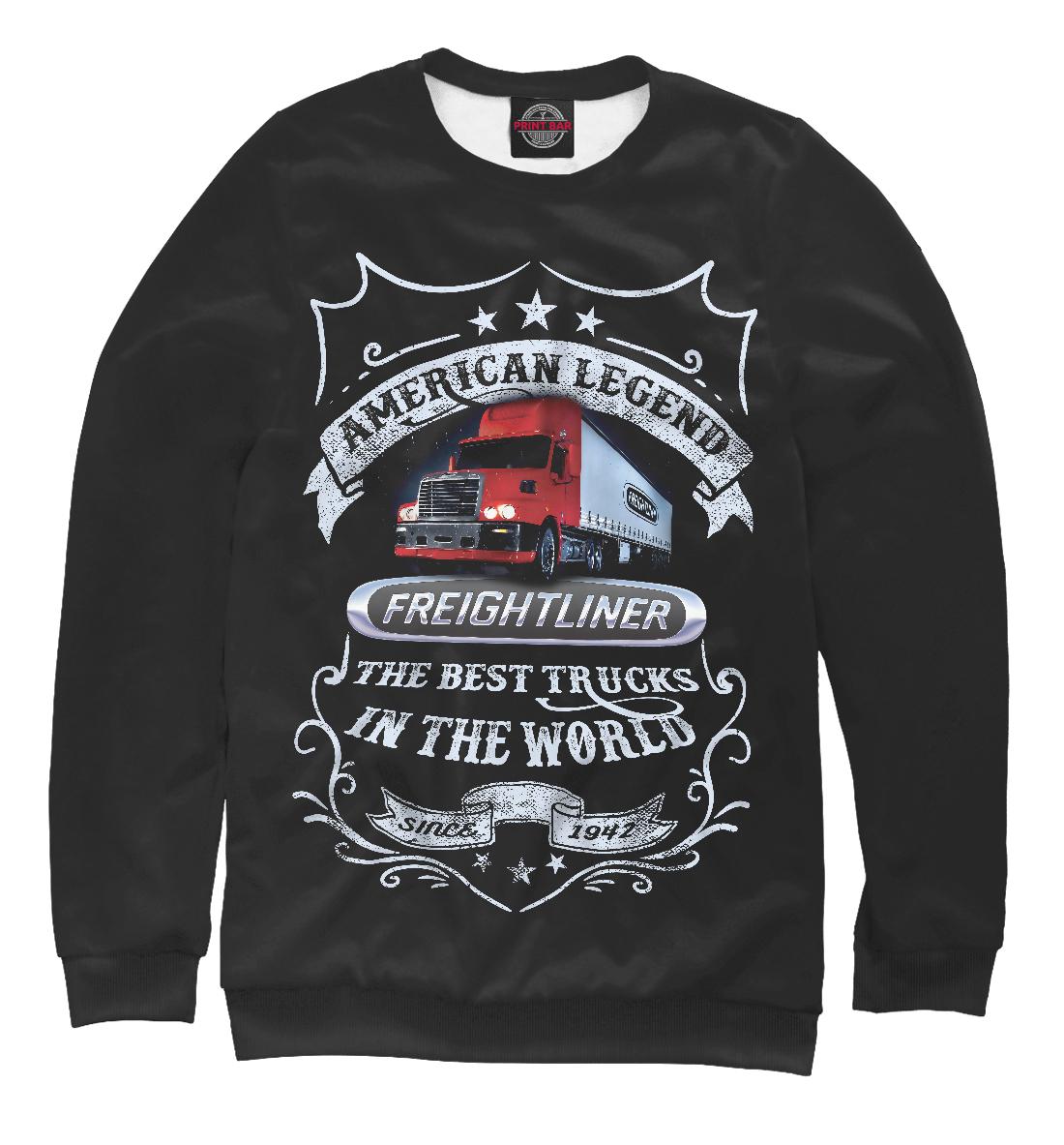 Купить FREIGHTLINER - Американская легенда, Printbar, Свитшоты, GRZ-279699-swi-1