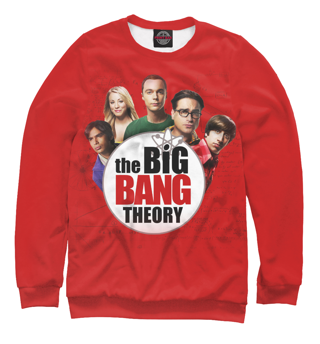 Купить The Big Bang Theory, Printbar, Свитшоты, TEO-279851-swi-2