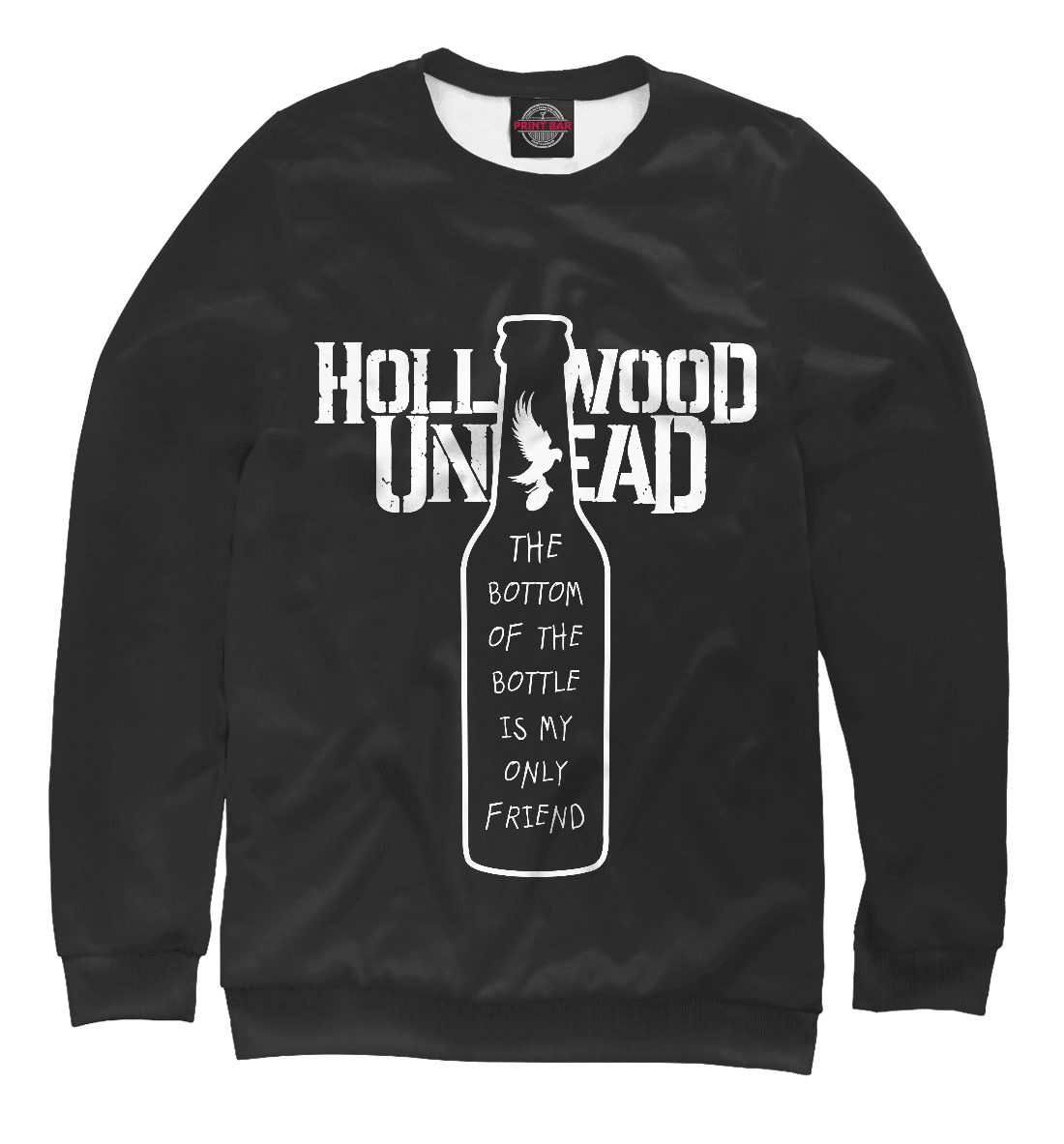 Купить Hollywood Undead Bullet lyrics, Printbar, Свитшоты, HLW-460040-swi-1
