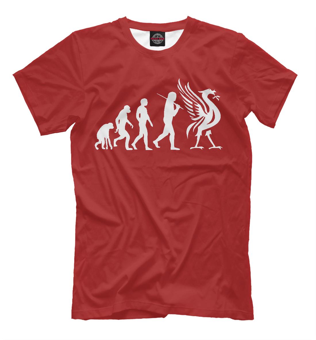 Купить Liverpool Evolution, Printbar, Футболки, LVP-126383-fut-2