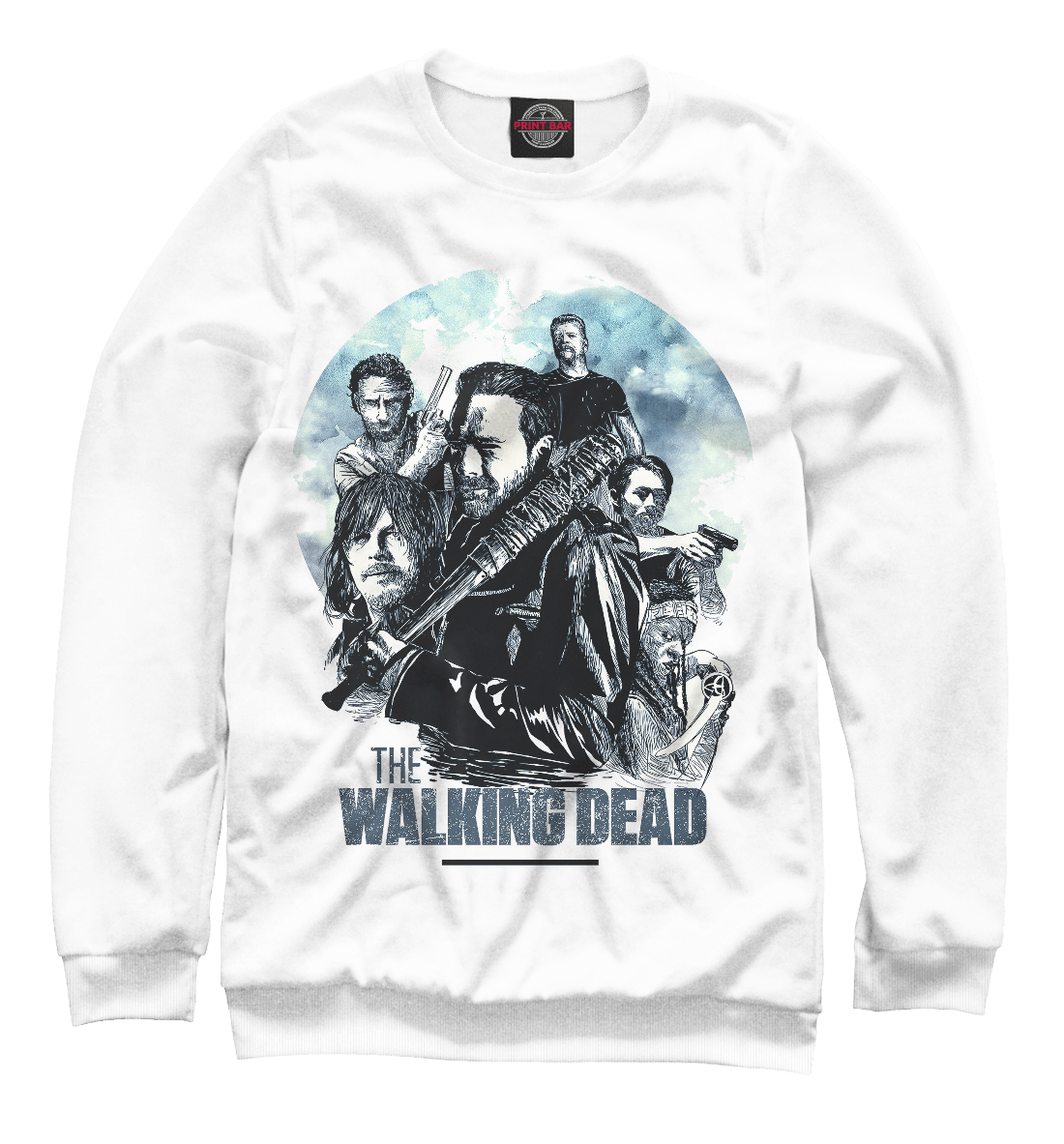 Купить The Walking Dead, Printbar, Свитшоты, HOD-726012-swi-1