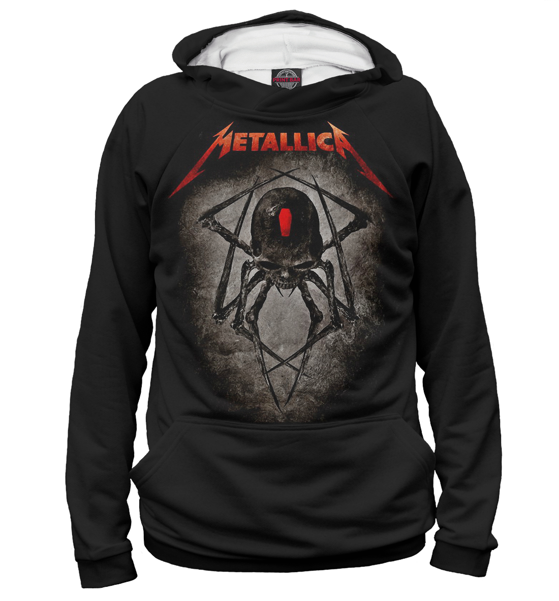 Купить Metallica Band, Printbar, Худи, MET-299524-hud-2