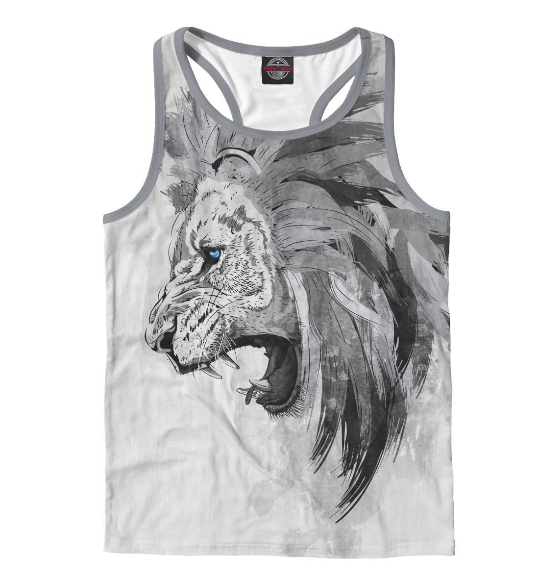 Купить Lion, Printbar, Майки борцовки, HIS-890771-mayb-2