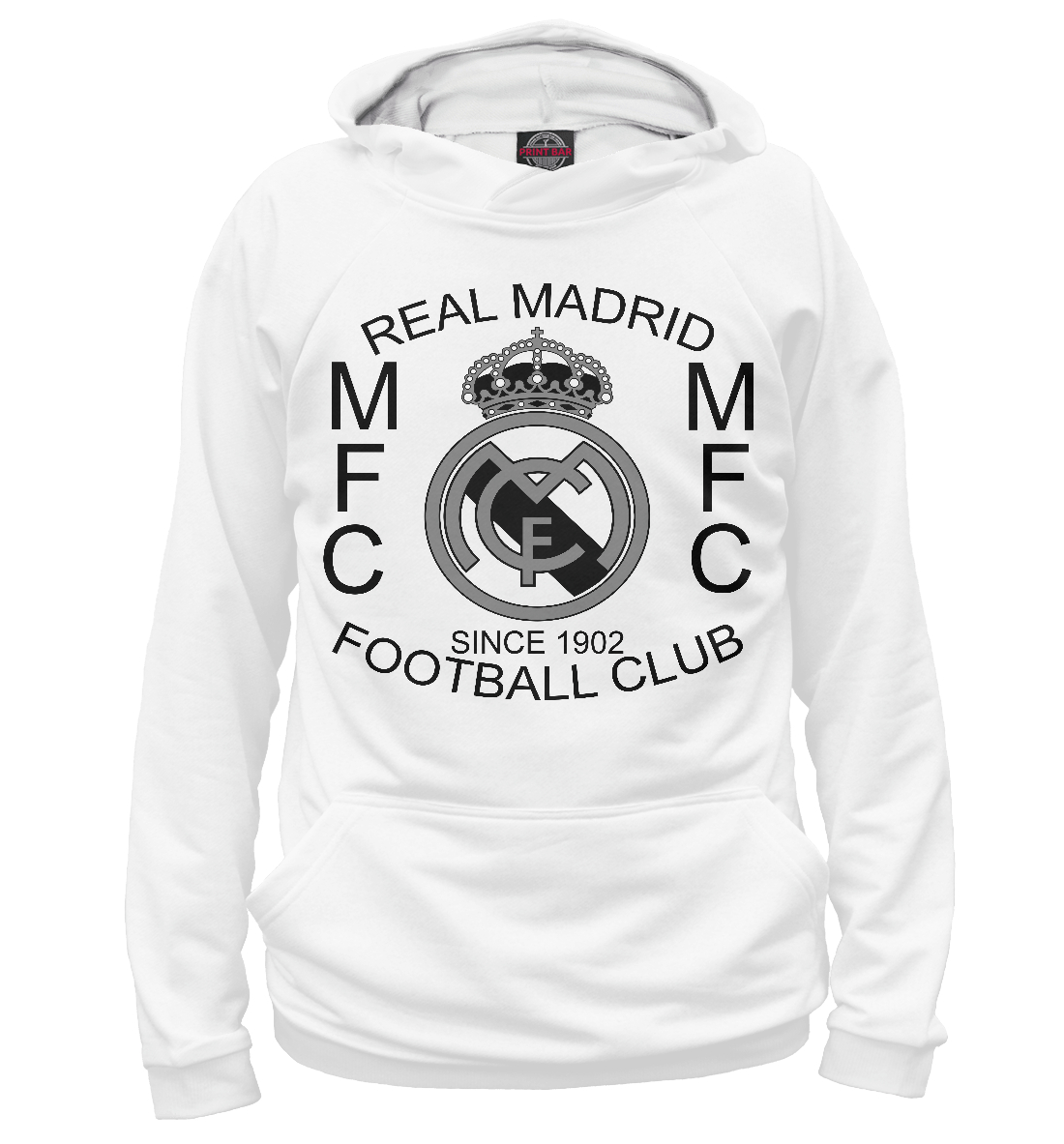 Купить FC Real Madrid, Printbar, Худи, REA-484792-hud-1