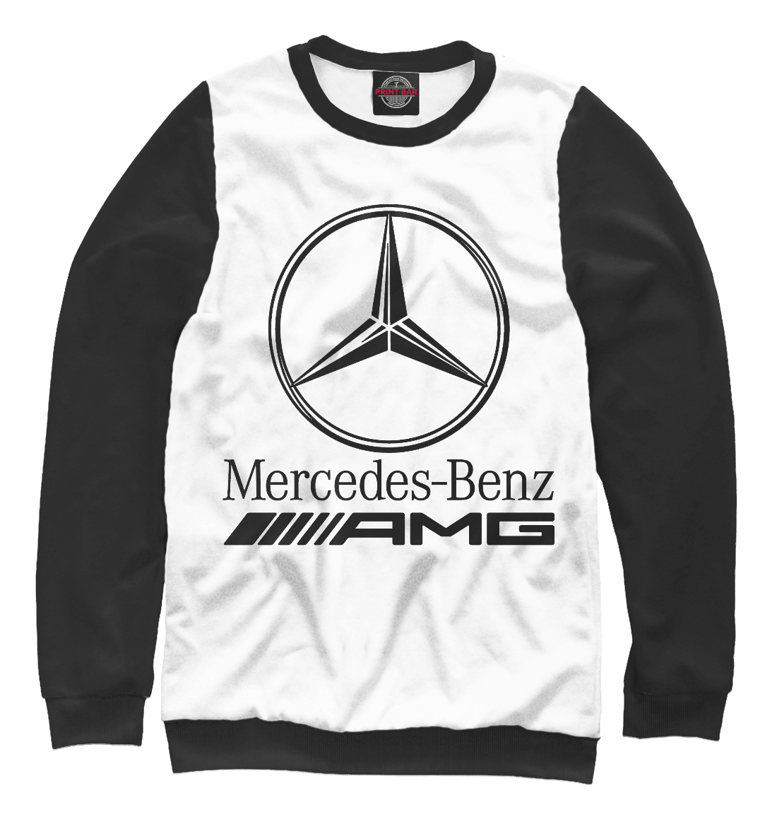 Купить Mercedes-Benz AMG, Printbar, Свитшоты, MER-912174-swi-2