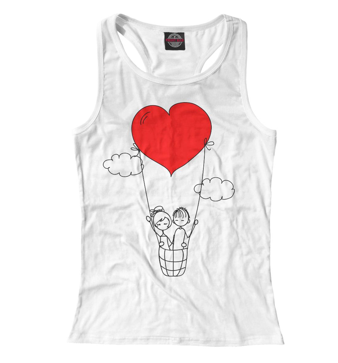Купить Человечки и сердечки, Printbar, Майки борцовки, 14F-778657-mayb-1