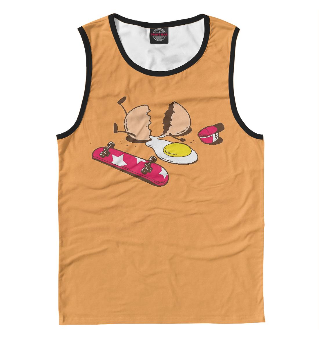 Купить Яйцо на скейте, Printbar, Майки, APD-374446-may-2