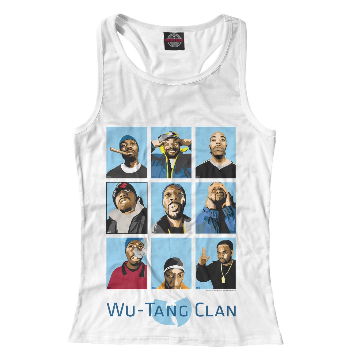 Купить Wu-Tang Clan, Printbar, Майки борцовки, WTK-204372-mayb-1