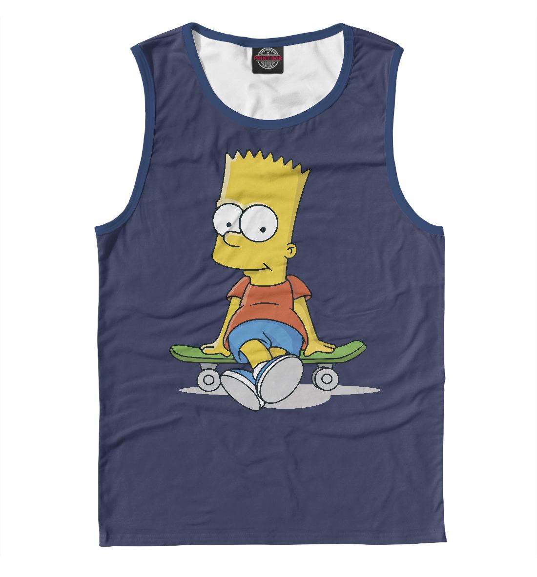 Купить Барт Симпсон, Printbar, Майки, SIM-164670-may-2