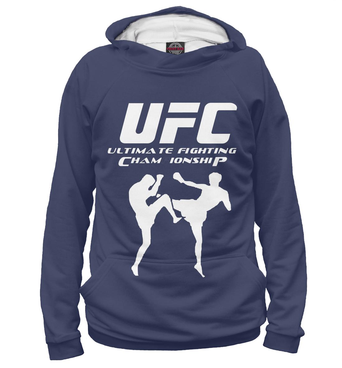 Купить UFC, Printbar, Худи, MNU-399454-hud-2