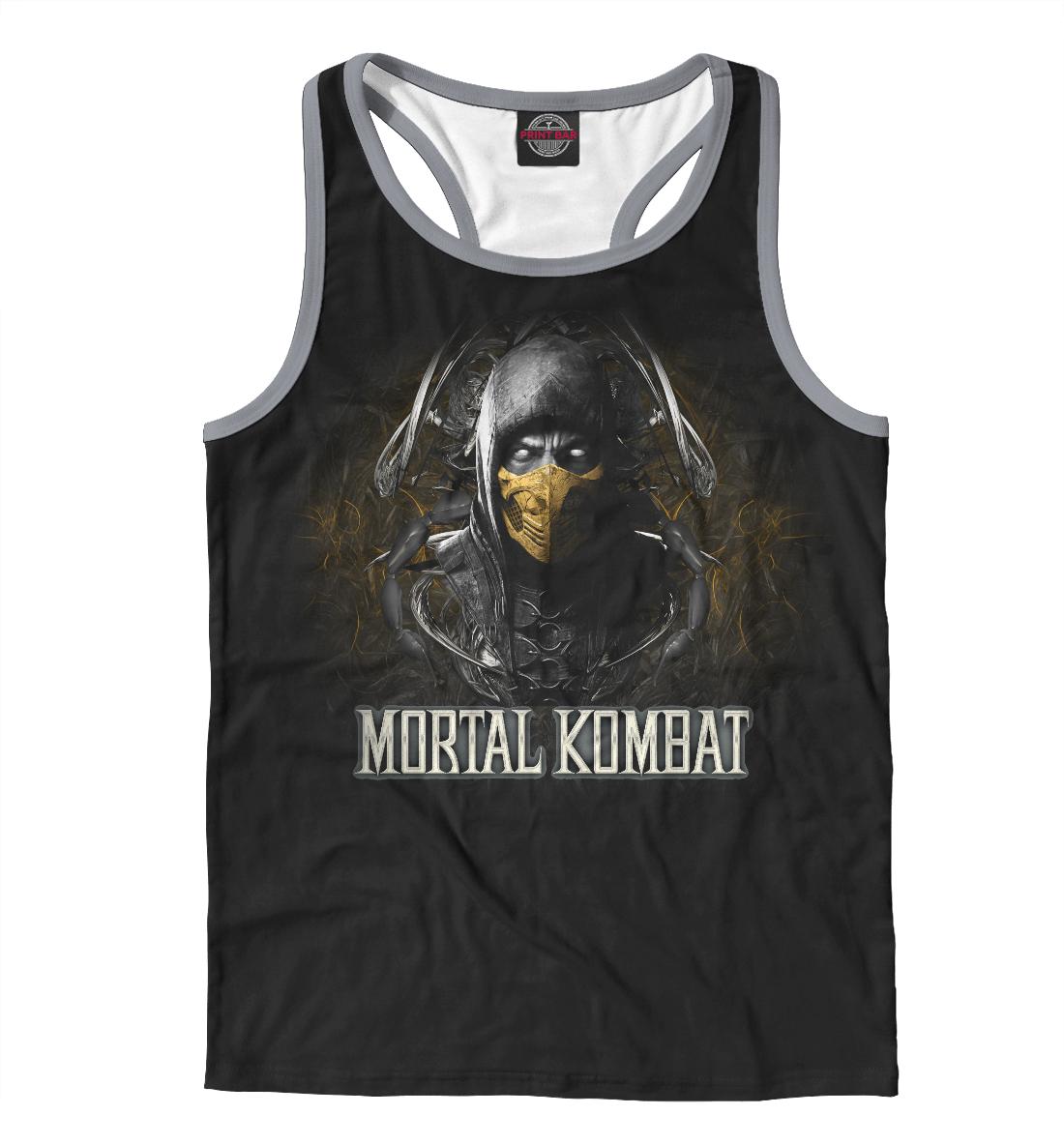 Купить Mortal Kombat, Printbar, Майки борцовки, MKB-955546-mayb-2