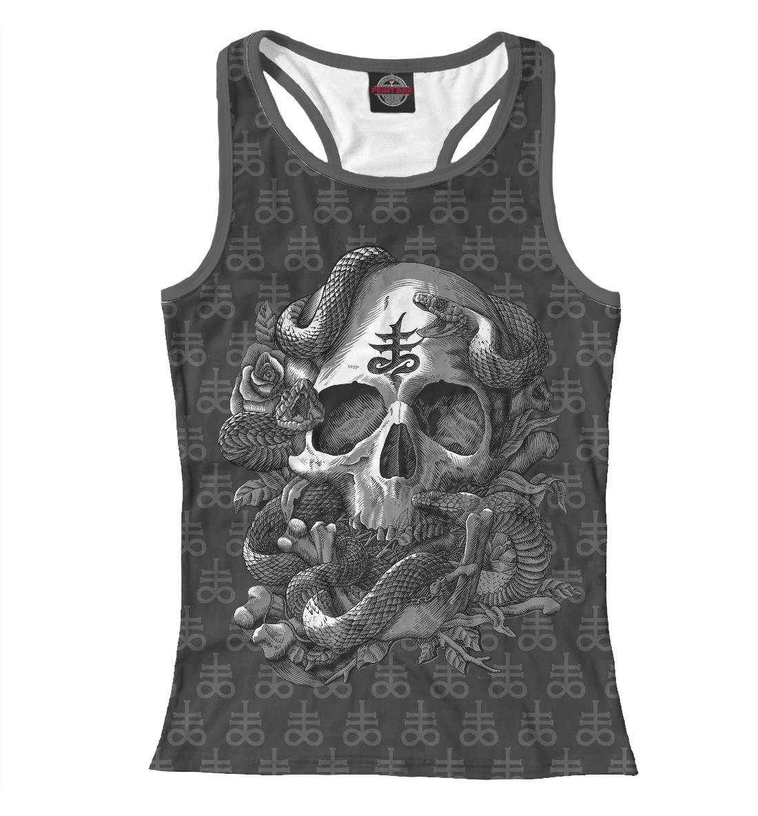 Купить Satan Skull, Printbar, Майки борцовки, DAR-920486-mayb-1