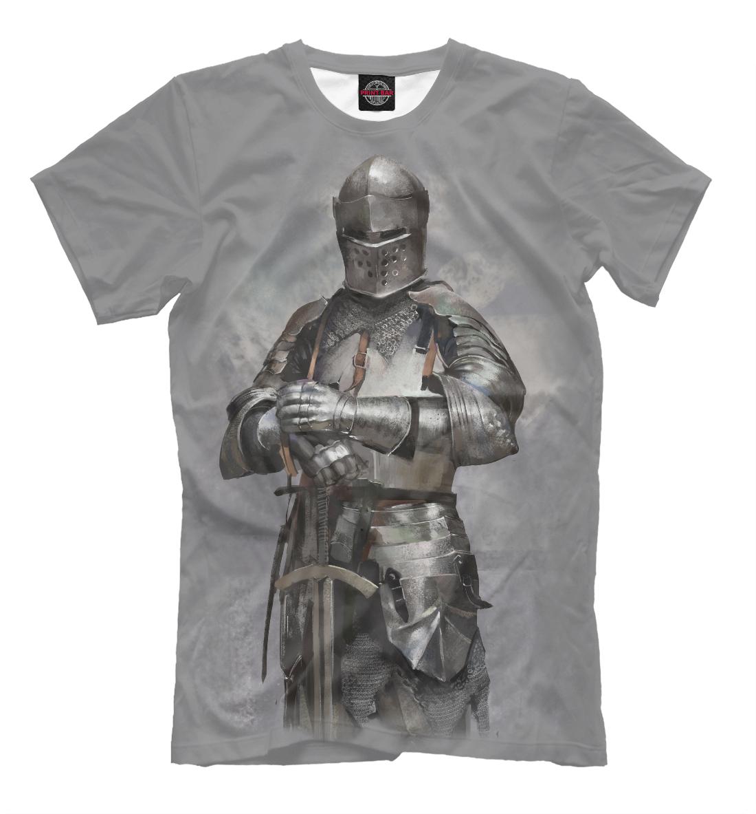 Купить Рыцарь, Printbar, Футболки, APD-747799-fut-2