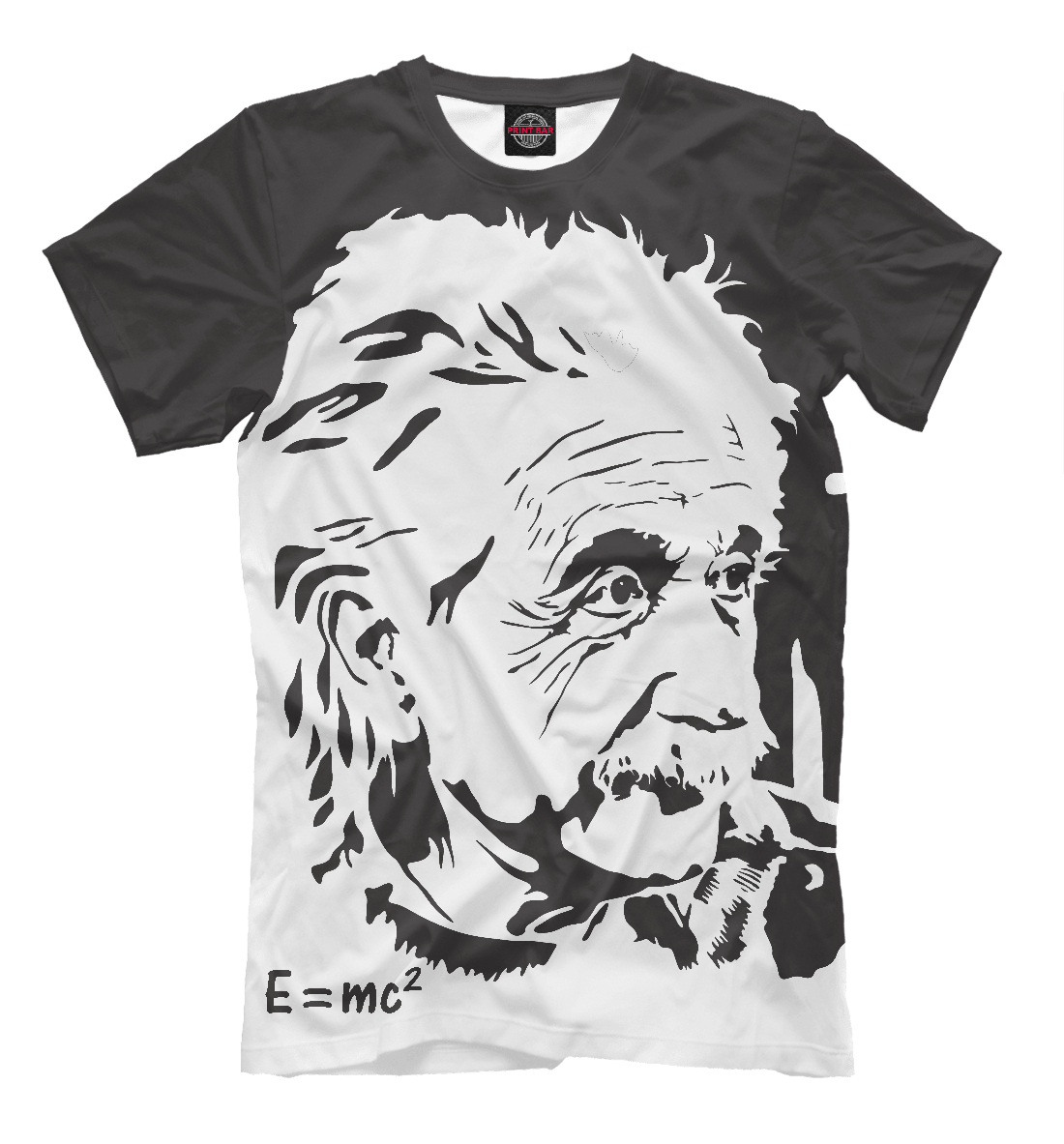 Купить Альберт Эйнштейн / Albert Einstein, Printbar, Футболки, ISR-464179-fut-2