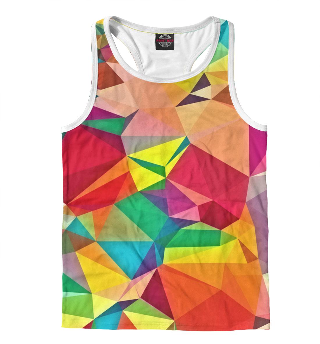 Купить Цветная абстракция, Printbar, Майки борцовки, ABS-277635-mayb-2