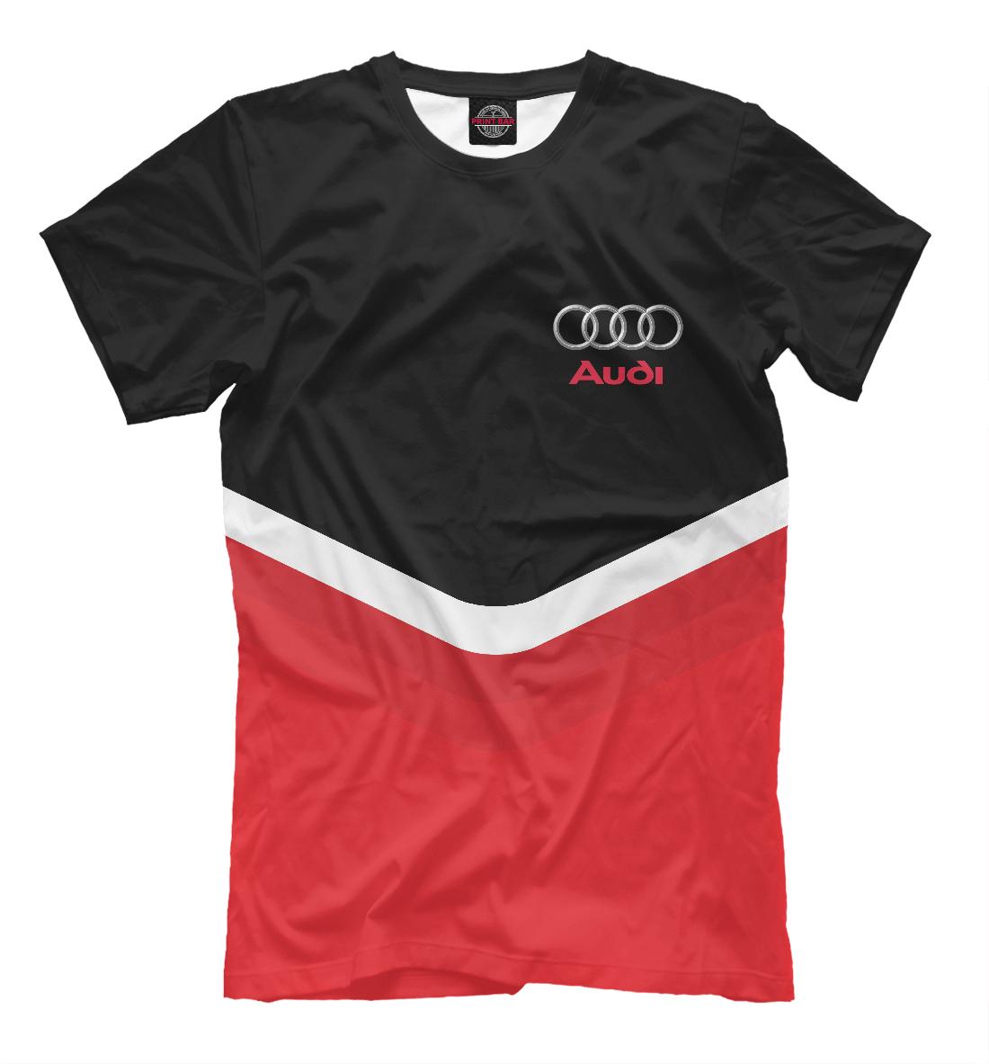 Купить Audi Black & Red, Printbar, Футболки, AUD-485304-fut-2