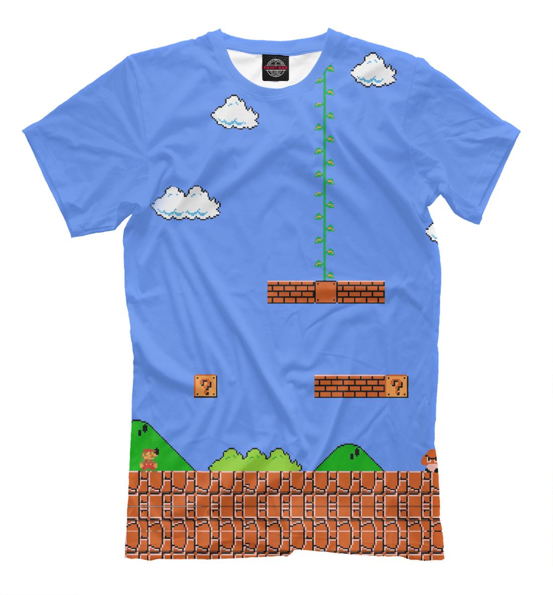 Купить Super Mario 8bit, Printbar, Футболки, DEN-538240-fut-2