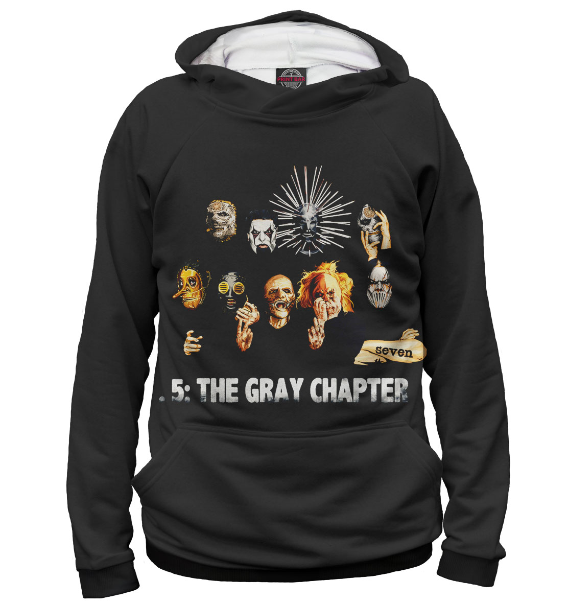 Купить .5: The Gray Chapter, Printbar, Худи, SLI-655371-hud-2