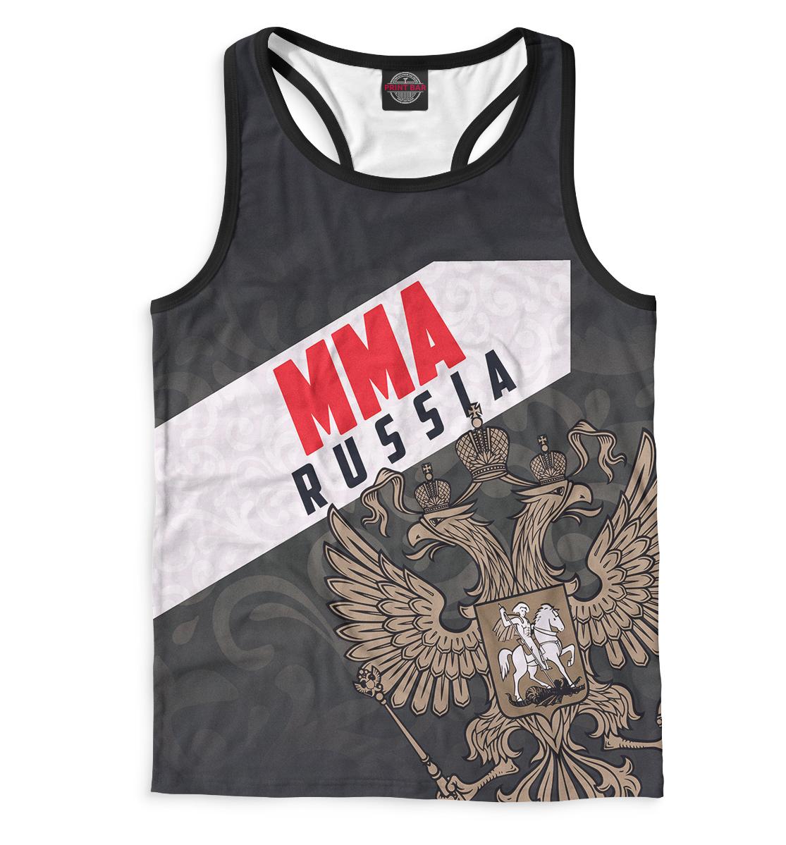 Купить MMA Russia, Printbar, Майки борцовки, MNU-101669-mayb-2
