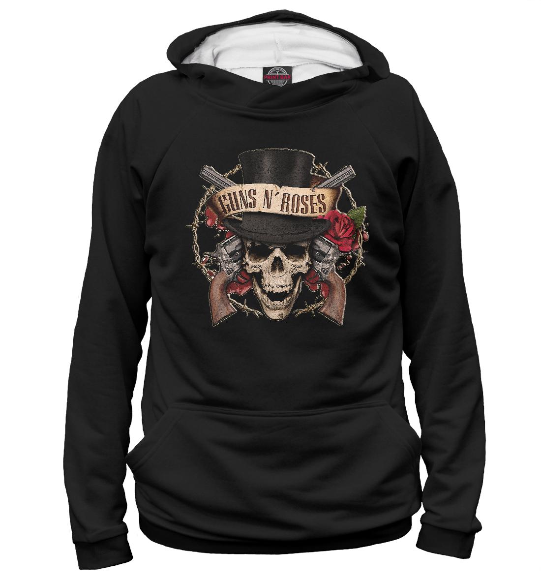 Купить Guns N' Roses, Printbar, Худи, GNR-866775-hud-1