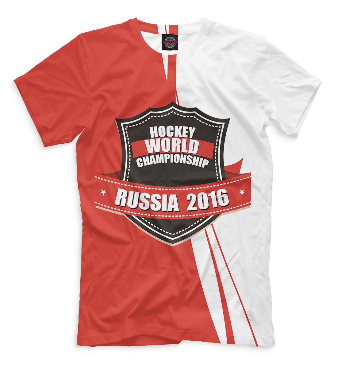 Купить Россия 2016, Printbar, Футболки, HOK-598290-fut-2