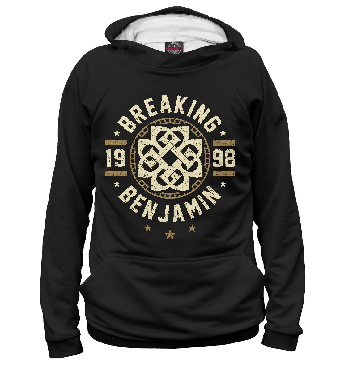 Купить Breaking Benjamin, Printbar, Худи, MZK-591242-hud-1
